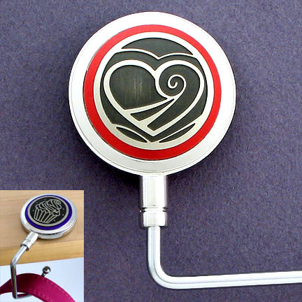 Valentine's Heart Handbag Holder