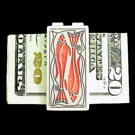 Custom Fisherman Money Clip