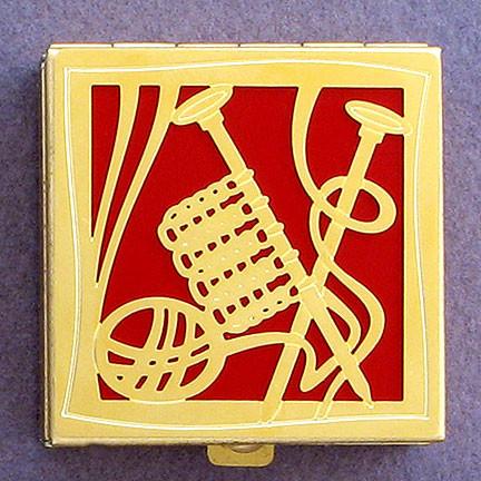 Knitting Gift Pill Box