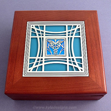 Handcrafted Jewelry Box for Nurses