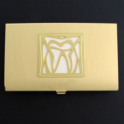 Dental Office Business Card Case
