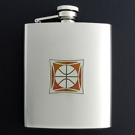 Custom Basketball Flasks from Kyle Design