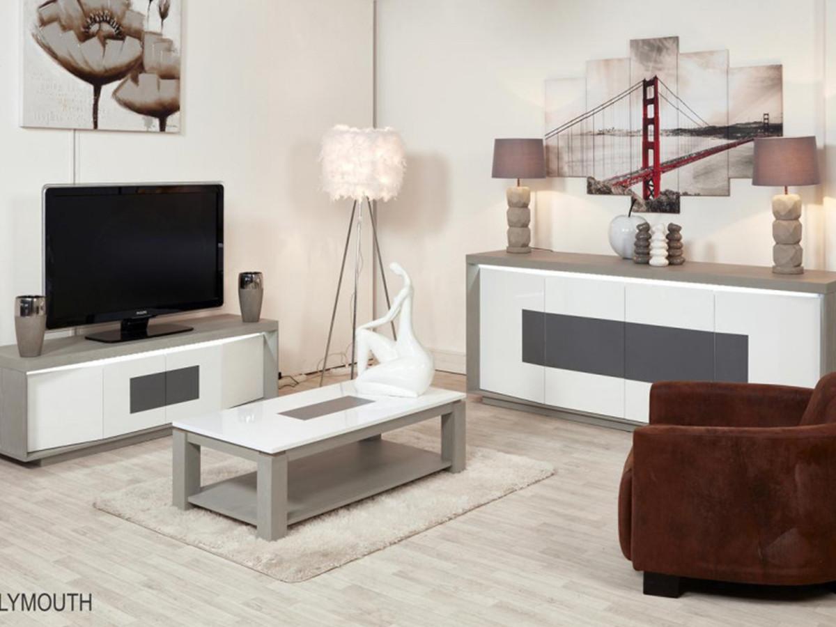 table basse en bois plymouthkaffe gris et blanc bobochic