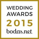 Vicente Forés Fotografía, ganador Wedding Awards 2015 bodas.net
