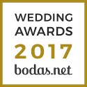 Vicente Forés Fotografía, ganador Wedding Awards 2017 Bodas.net