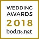 Radiga Fotógrafo, ganador Wedding Awards 2018 Bodas.net