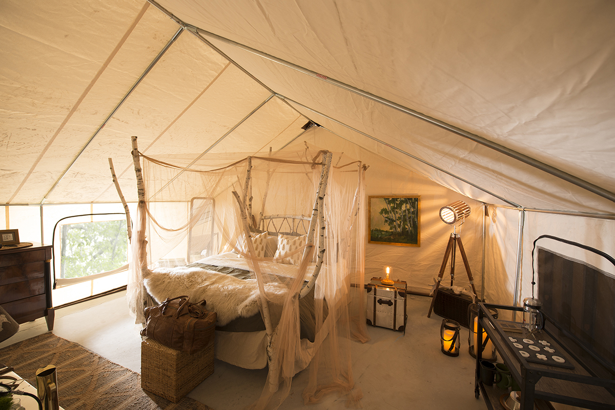 Heres A Sneak Peek Of Maines New Glamping Experience
