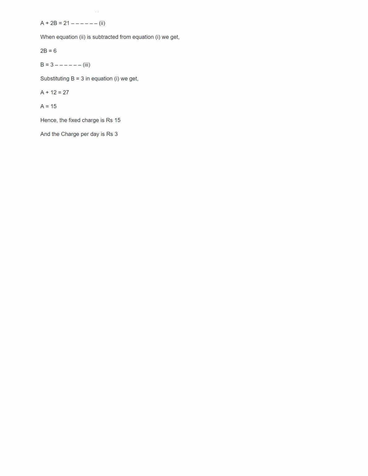 Linear Equations Worksheet Class 10 Cbse