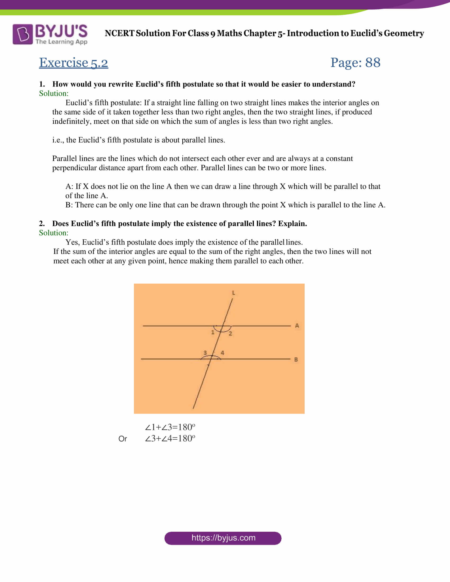 Geometry Chapter 5 Review Worksheet