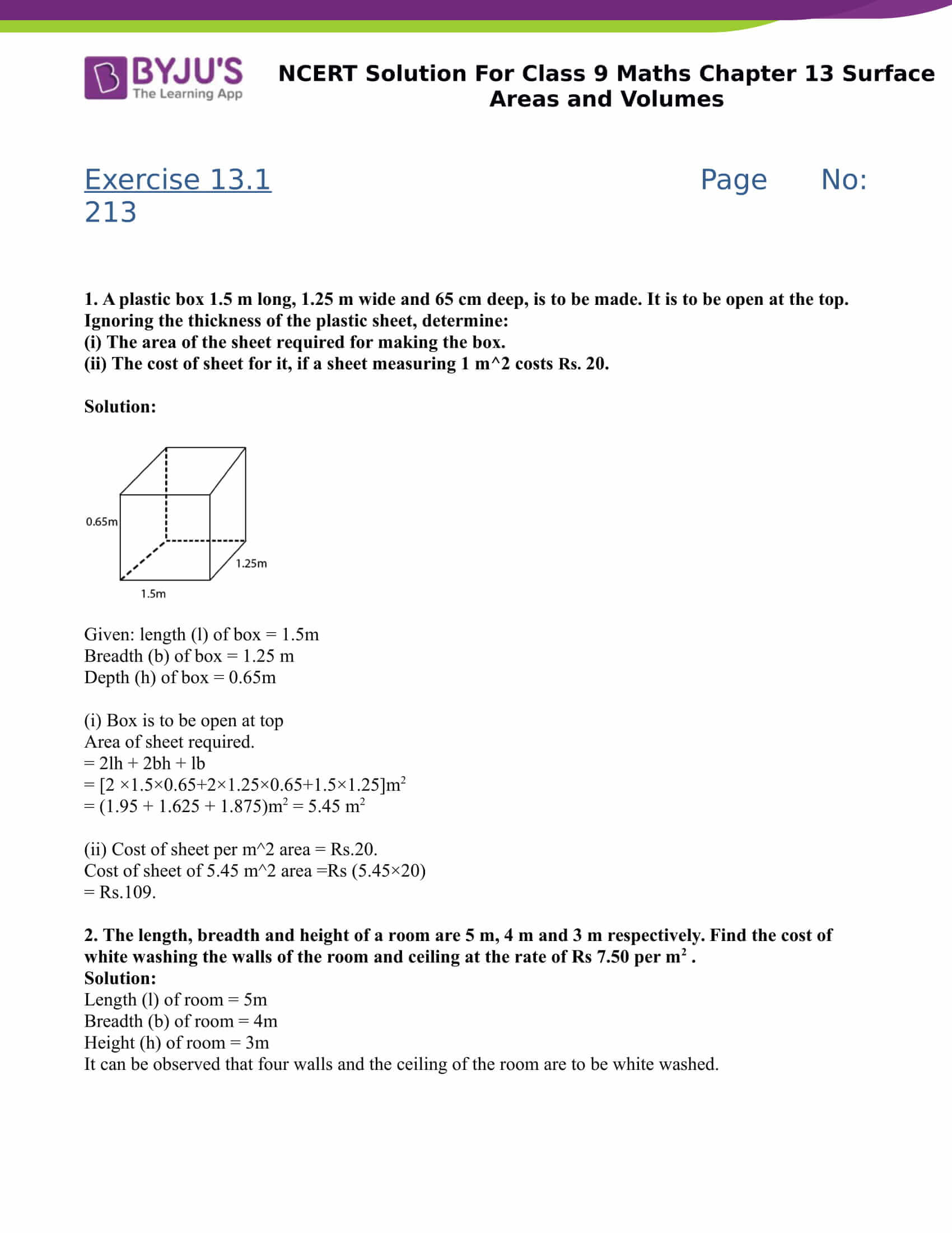 Quadrilaterals Worksheet Grade 9