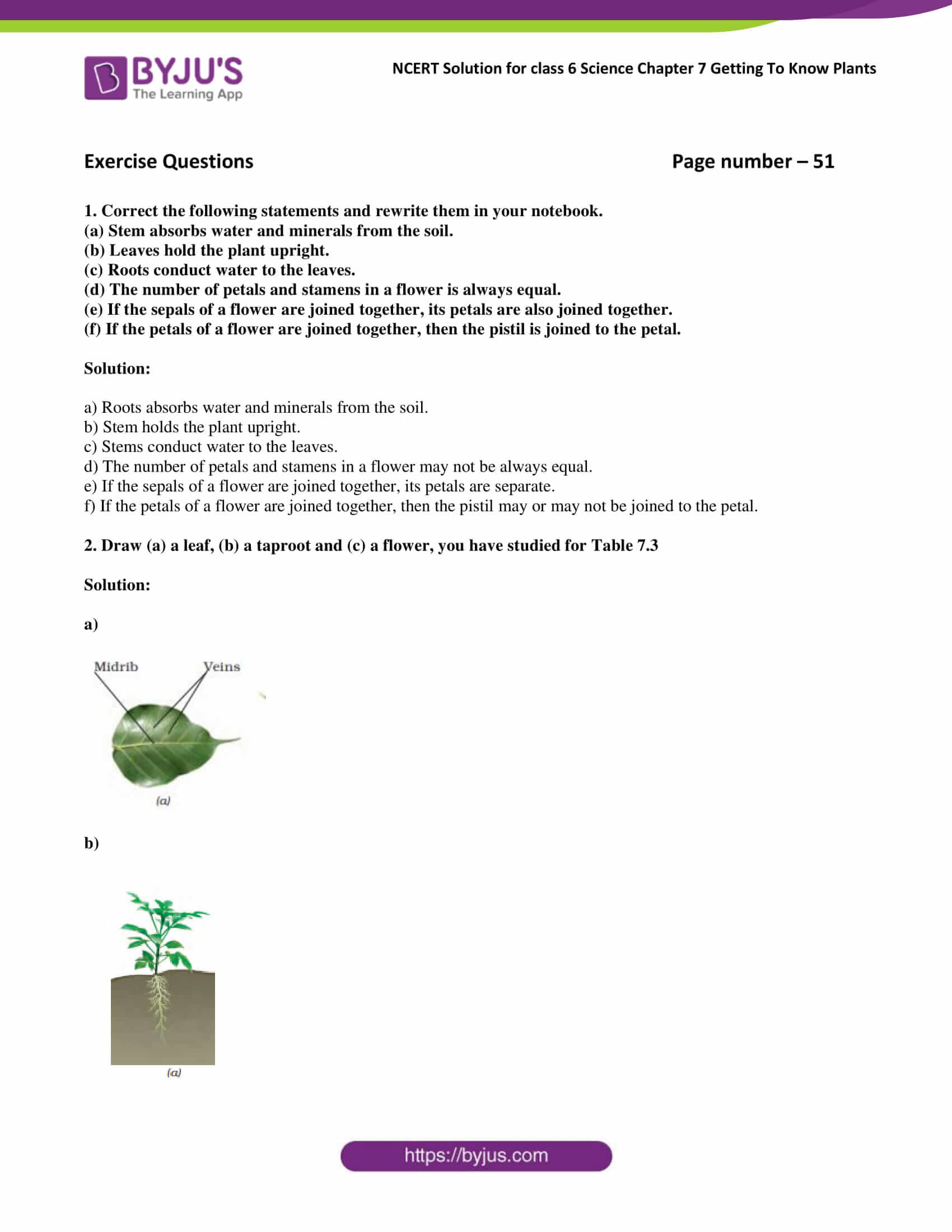 Ncert Solutions For Class 6 Science Chapter 7 Getting To