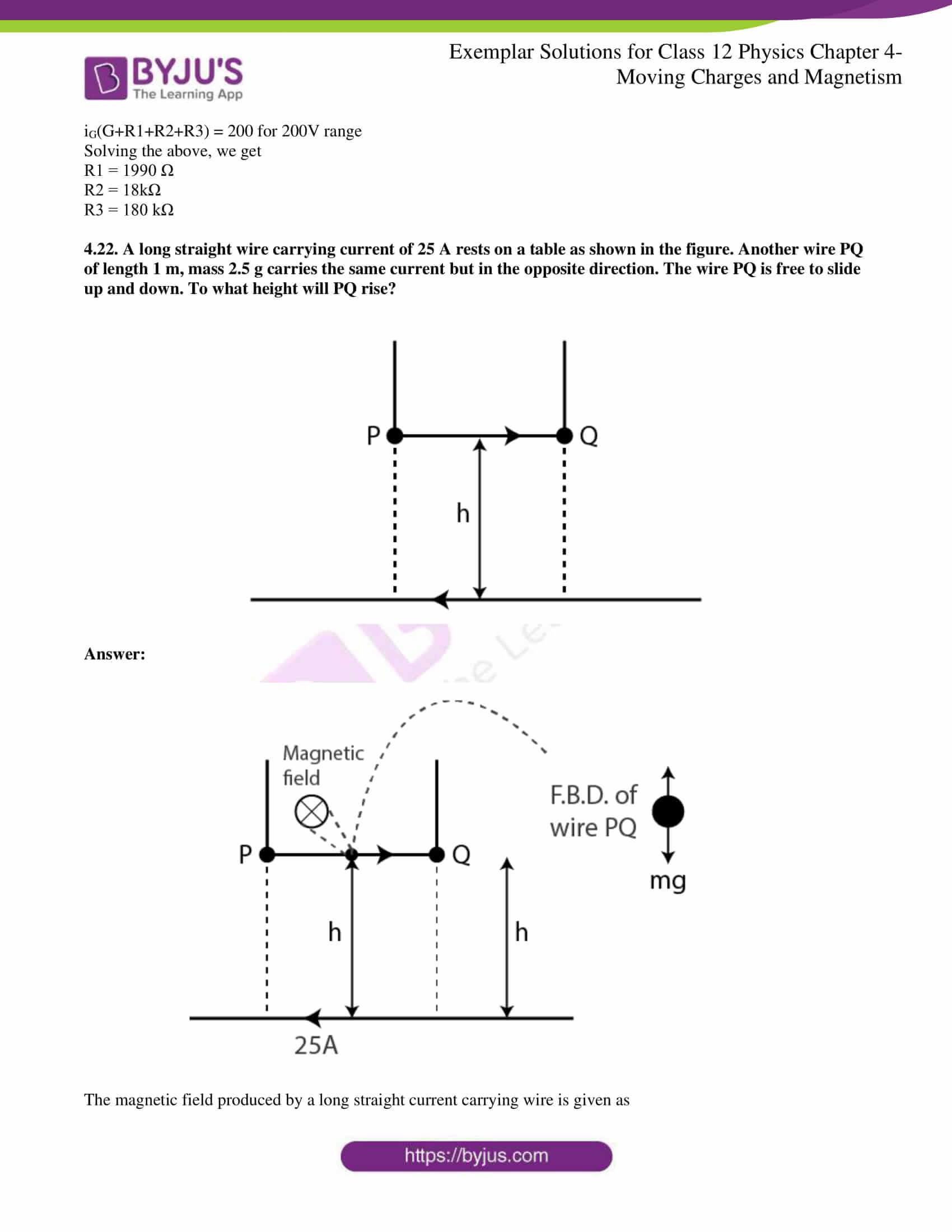 Ncert Exemplar Class 12 Physics Solutions Chapter 4