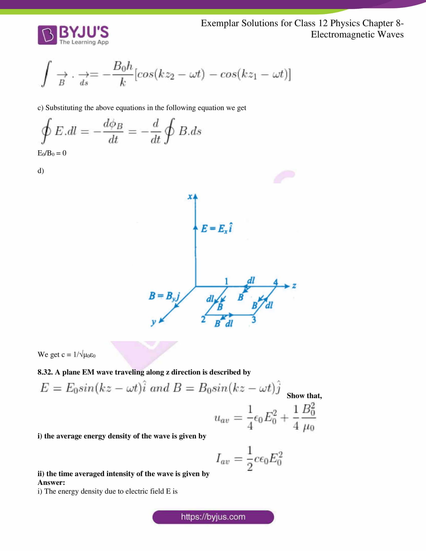 Ncert Exemplar Class 12 Physics Solutions Chapter 8