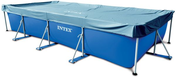 bache piscine intex rectangulaire 4 50 x 2 20m