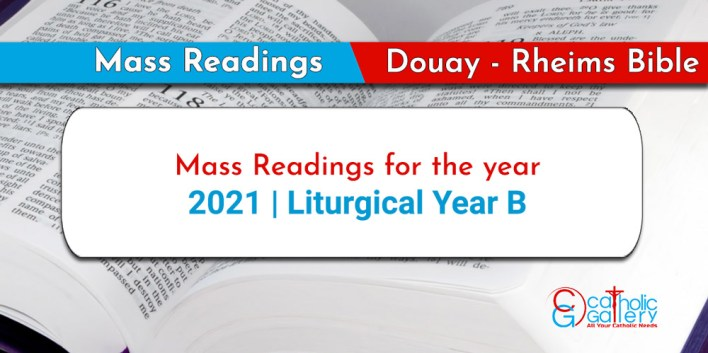 Catholic 22 May 2021 Daily Mass Readings for Saturday