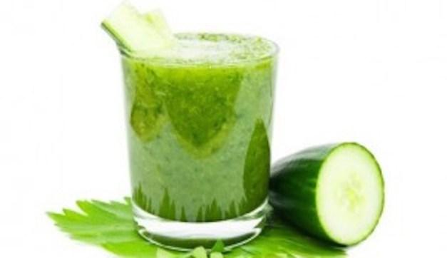 cucumber and coriander detox drink के लिए इमेज परिणाम