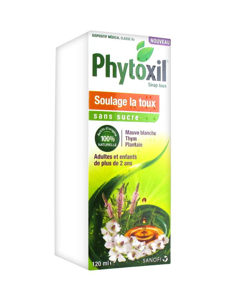 Sanofi Phytoxil Sirop sans Sucre 120 ml
