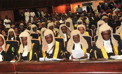 Image result for Nigerian supreme court justices