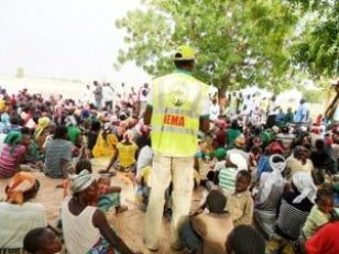 Image result for NEMA confirms delivery of 200 trucks of food items to northeast IDPs