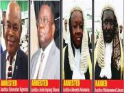 Image result for arrested Judges