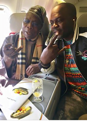 Image result for alex ozone picture with obasanjo