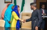 Image result for Malala and Osinbajo