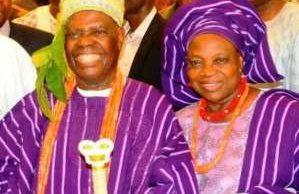 Image result for Bisi Akande and Buhari
