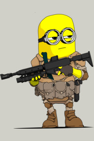 Minion Soldier Shirt