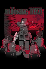 Blocking Dead Shirts and Gifts. Brick Grimes in this lego meets Walking Dead design!