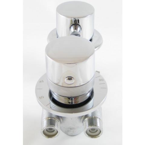 robinet mitigeur douche thermostatique