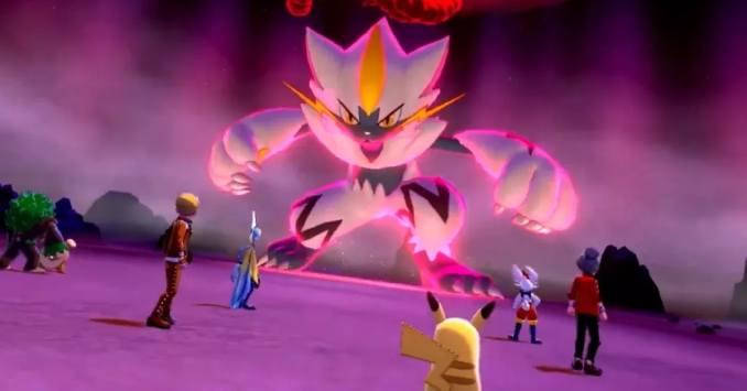 Dieses Bild zeigt ein Shiny Zeroroa aus den Dynamax Abenteuer