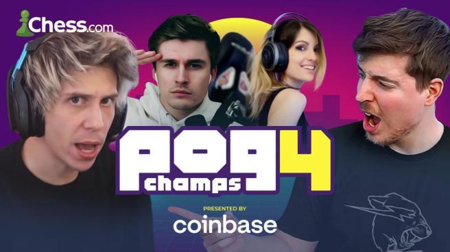 Ludwig, Mr. Beast, Rubius, and IAmCristinini headline PogChamps 4's  $100,000 lineup - Dot Esports