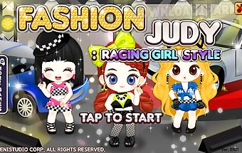 Fashion judy  idol style Android Game free download in Apk Fashion judy  racing girl