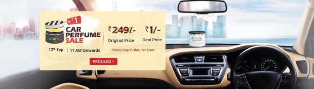 Car Perfume Sale | @ Rs 1 | Droom