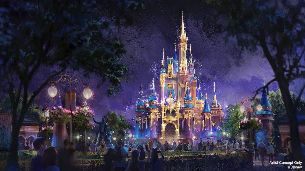 The World's Most Magical Celebration Begins Oct. 1 in Honor of Walt Disney WorldResort's 50th Anniversary