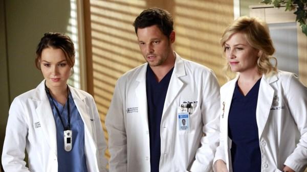 Watch Grey's Anatomy Season 10 Episode 15 Throwing It All ...