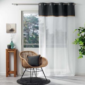 rideaux voilages et store interieur