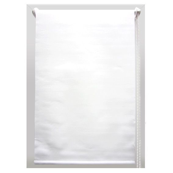 store enrouleur occultant 45 x 90 cm uni blanc