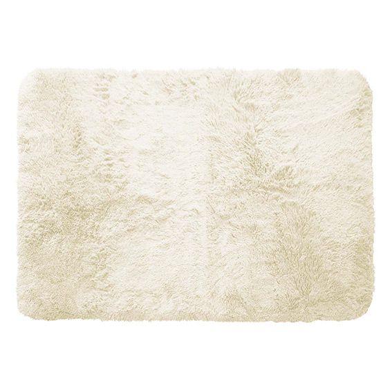 tapis rectangulaire 170 cm marmotte ecru