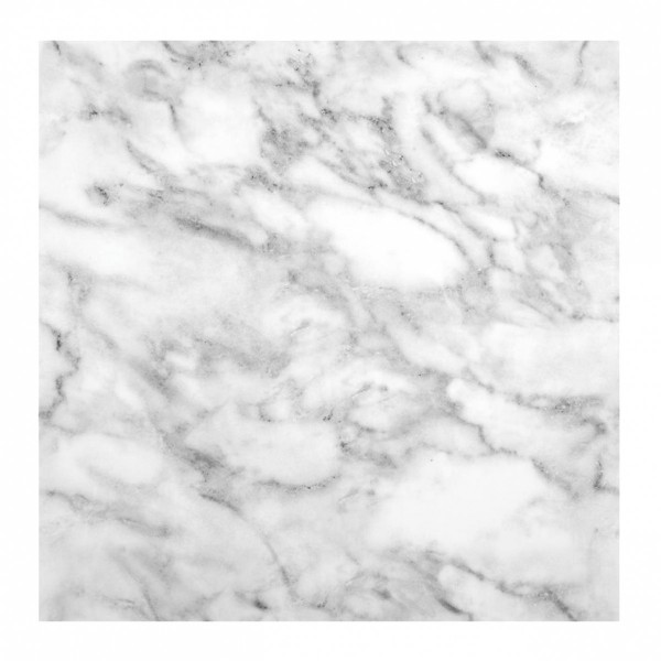 lot de 2 plaques stickers relief marbre blanc