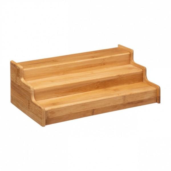 etagere a epices bambou extensible bois