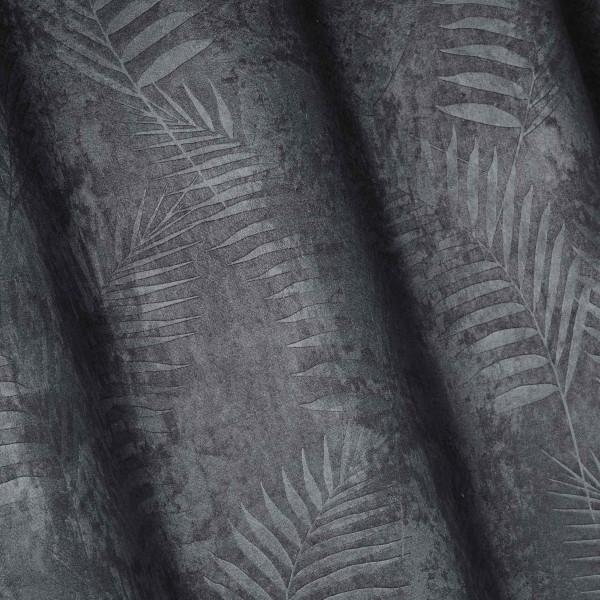 rideau occultant 140 x 240 cm tropicaline gris anthracite