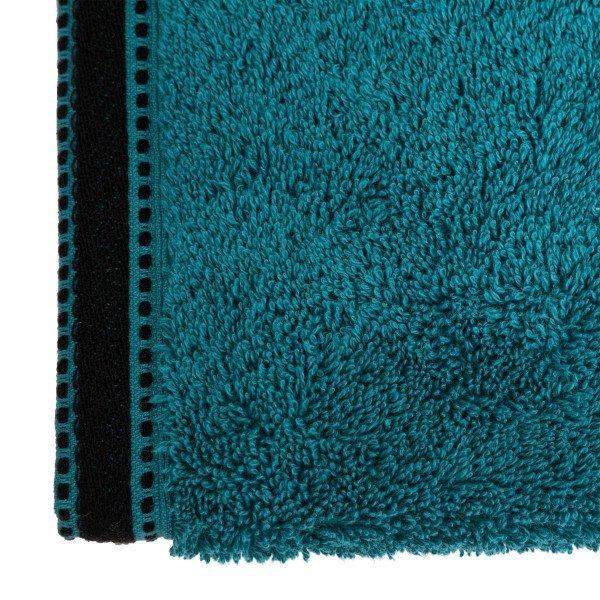 serviette de bain 50 x 90 cm joia bleu canard