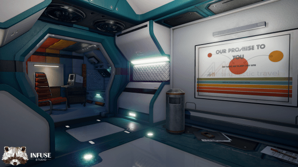 Retro Space Station by Infuse Studio in Environments - UE4 ...