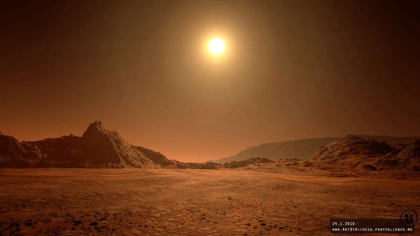 Mars Landscape by Pixel Perfect Polygons in Environments ...