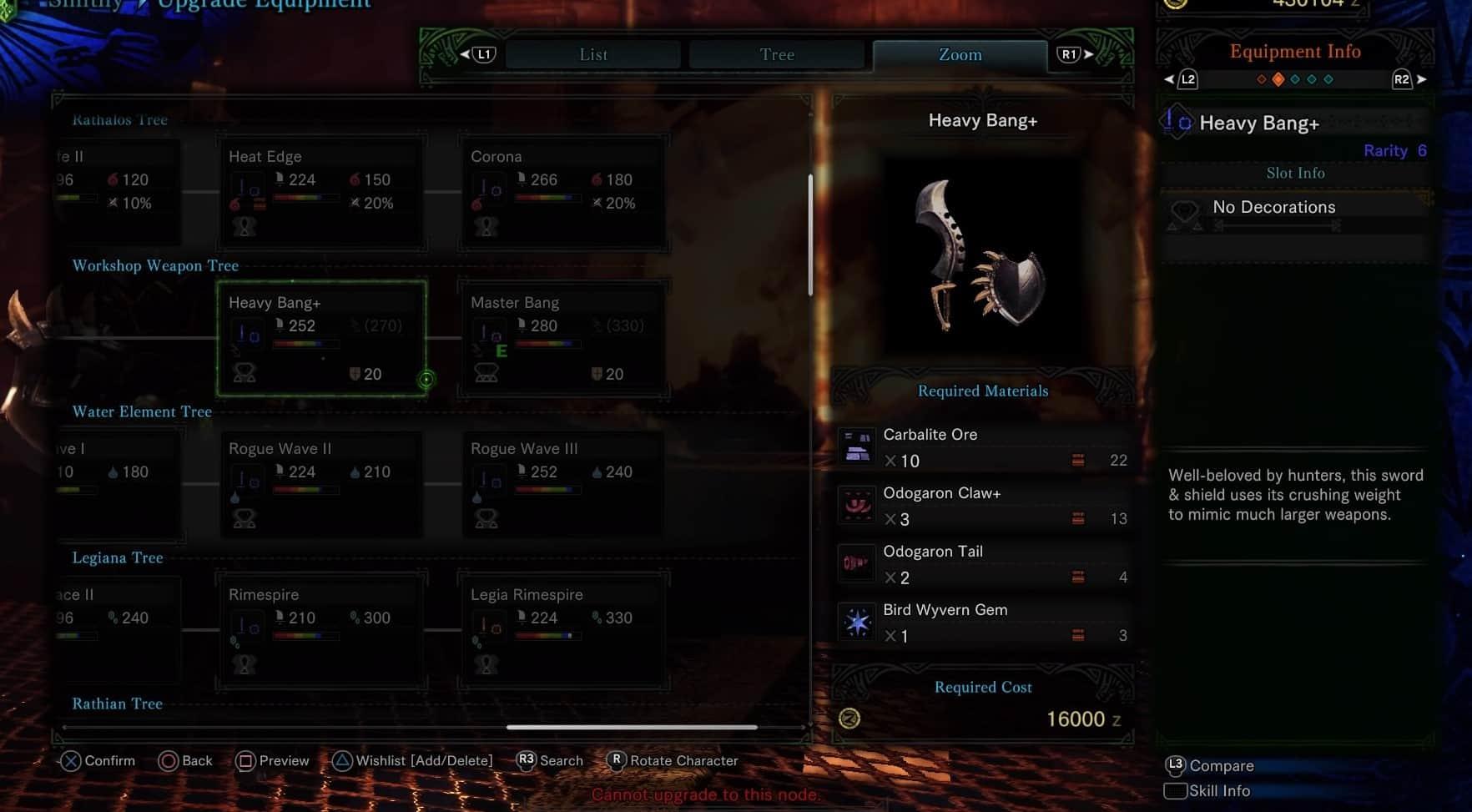 MHW Sword & Shield - Heavy Bang