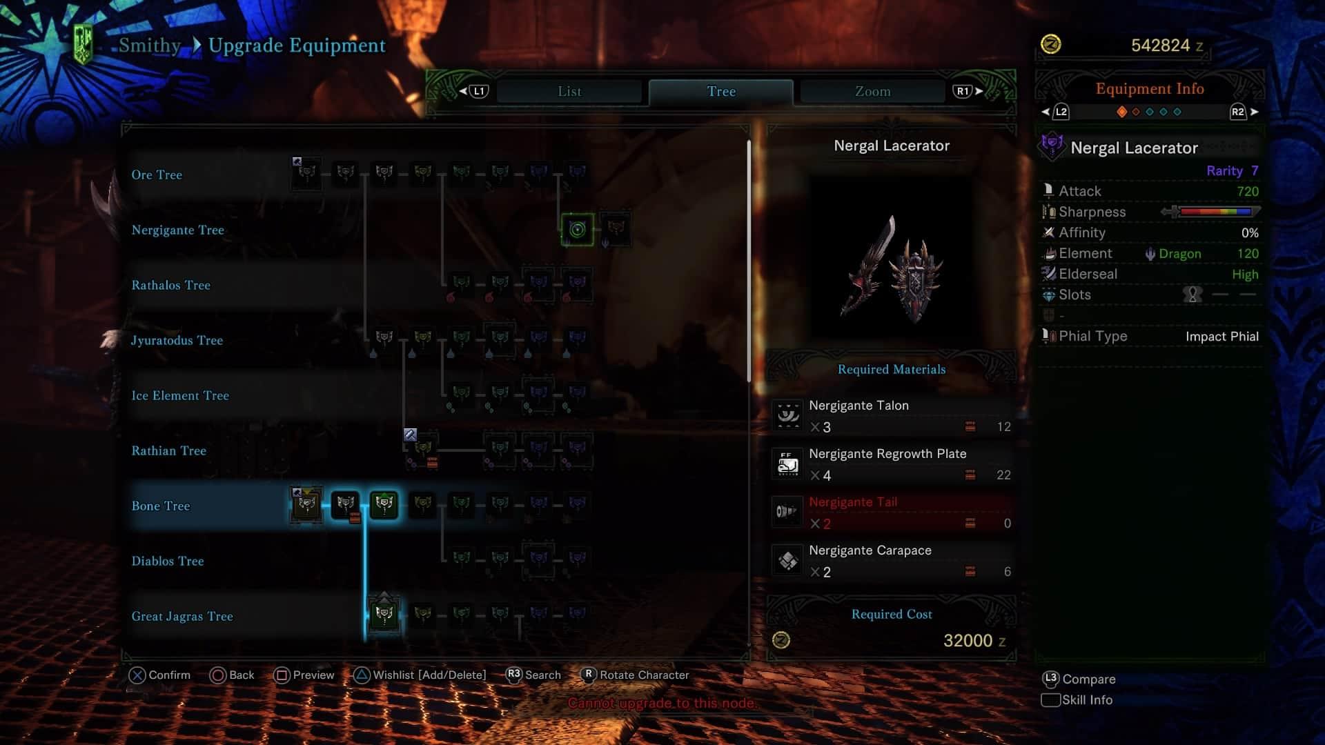 Monster Hunter World Charge Blade - Nergigante Charge Blade