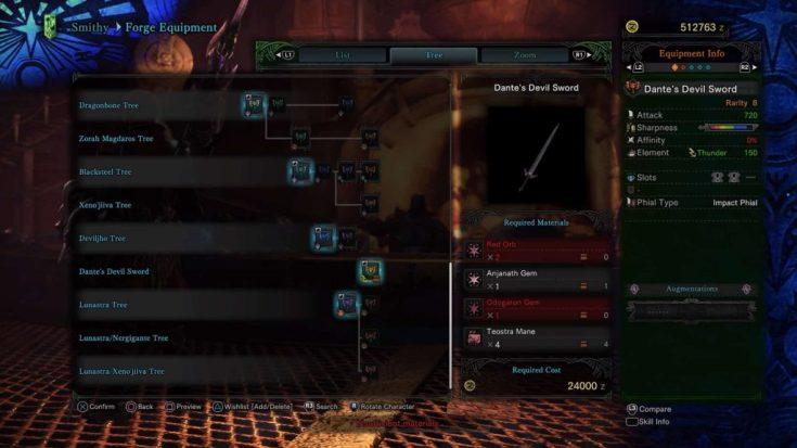Monster Hunter World Charge Blades