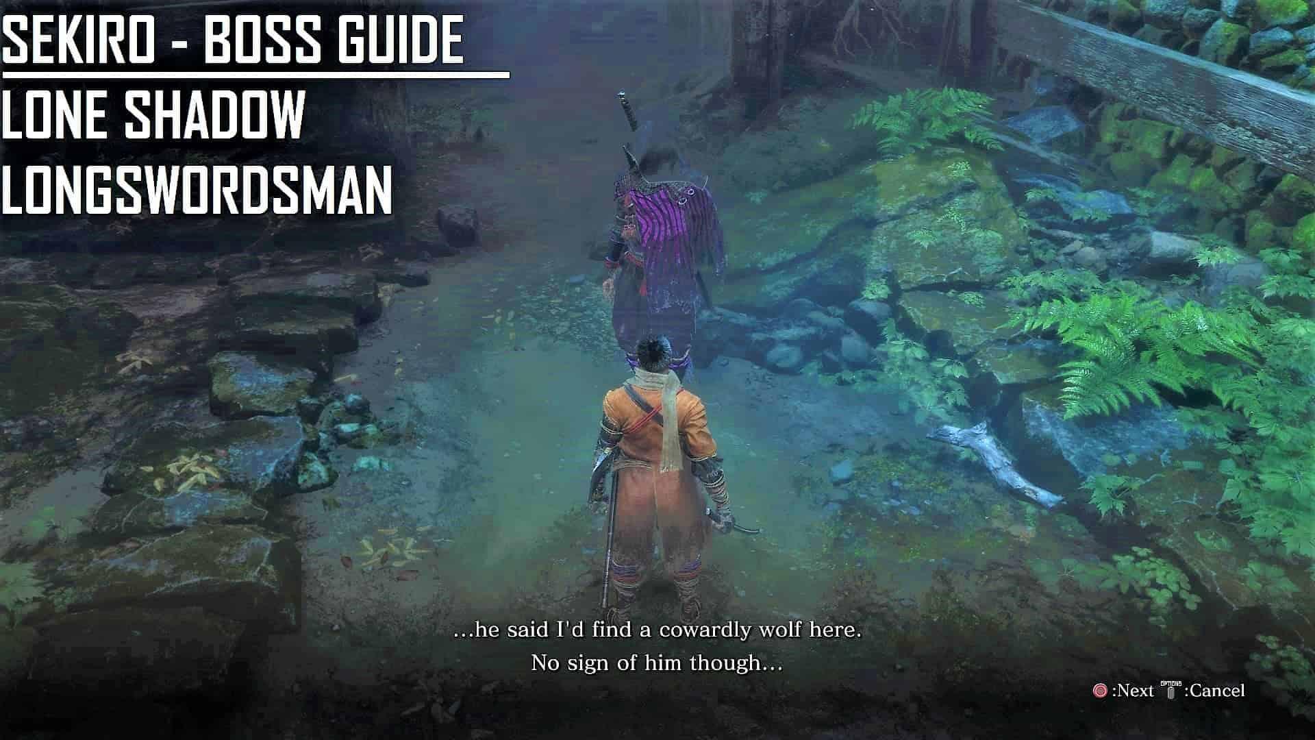 Lone-Shadow Long Swordsman Guide