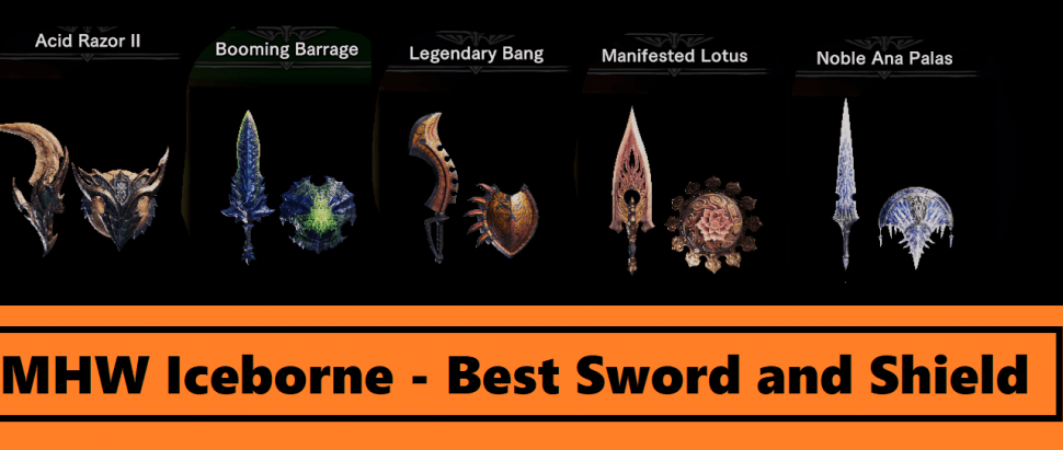 MHW Iceborne Weapons Guide – Best Sword and Shield [Iceborne Best SnS 2020]